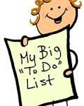 My Big To Do List