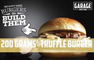 Il Truffle burger