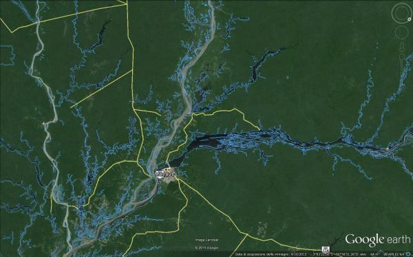 Amazzonia la Foresta pluviale