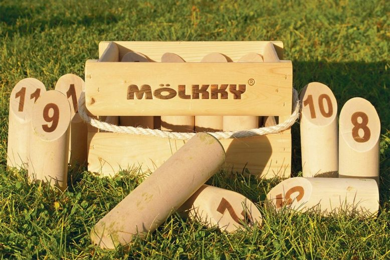 Mölkky version luxe : photo du contenu