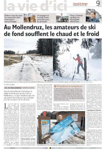 Journal de Morges 8.1.2021