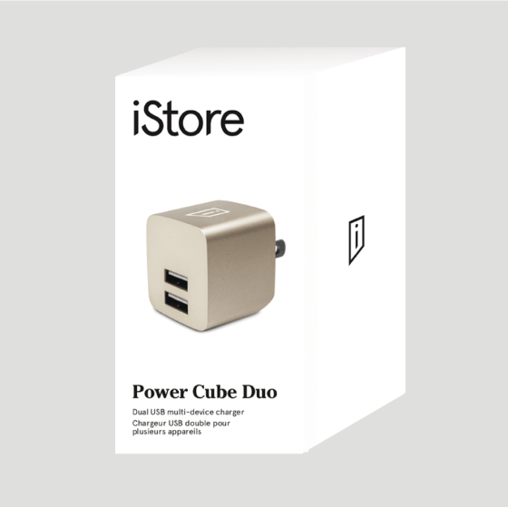 iStore Power Cube Duo Full Packaging Front