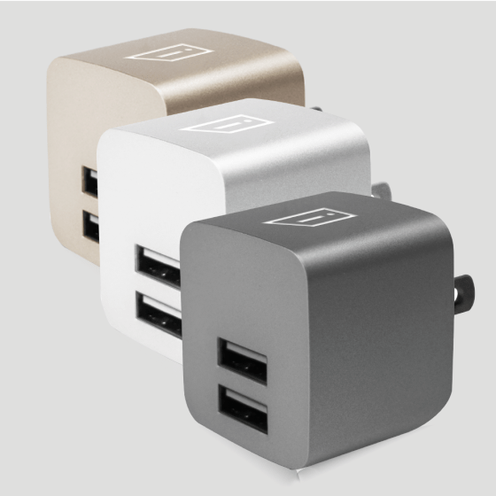 iStore Power Cube Duo Full Product Detail Color Suite