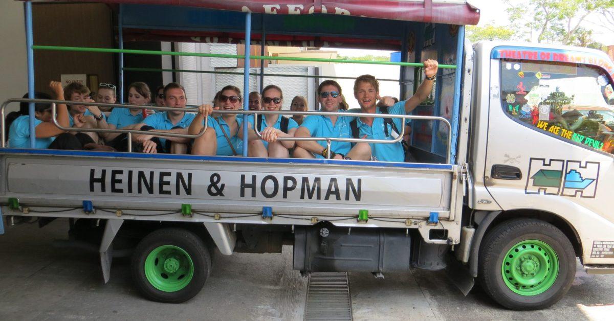 Day 4, Singapore Heinen en Hopman