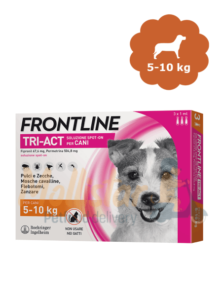 Frontline tri act small