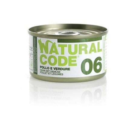 Natural Code 06 Pollo e Verdure• 0,85g