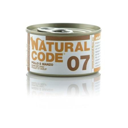 Natural Code 07 Pollo e Manzo• 0,85g