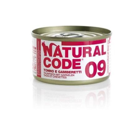 Natural Code 09 Tonno e Gamberetti• 0,85g