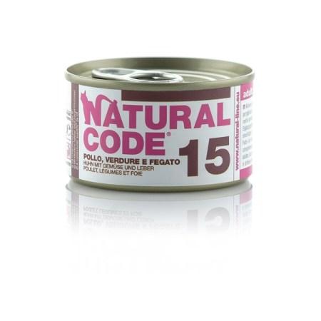 Natural Code 15 Pollo, Verdure e Fegato• 0,85g