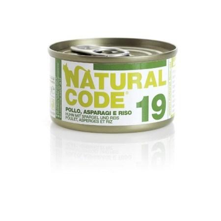 Natural Code 19 Pollo e Asparagi• 0,85g