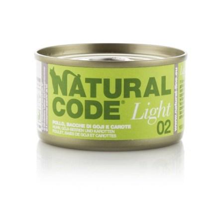 Natural Code Light 02 Pollo, Bacche di Goji e Carote• 0,85g