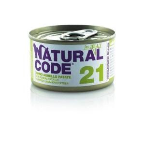 Natural Code 21 Tonno, Agnello e Patate• 0,85g