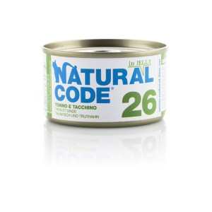 Natural Code 26 Tonno e Tacchino• 0,85g