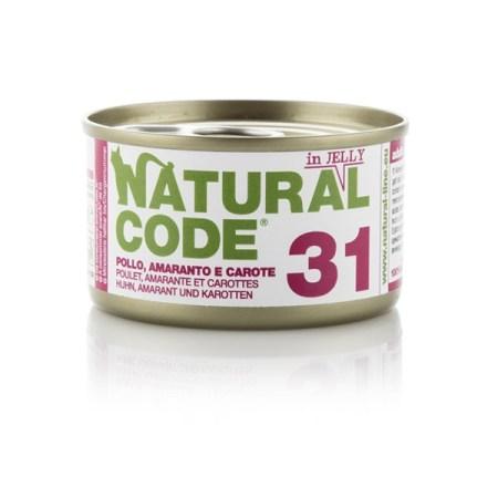Natural Code 31 Pollo, Amaranto e Carote• 0,85g