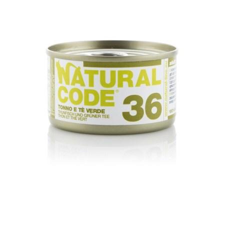 Natural Code 36 Tonno e Tè Verde• 0,85g