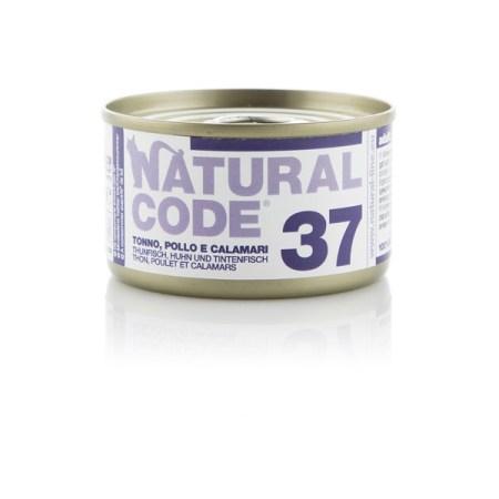 Natural Code 37 Tonno, Pollo e Calamari• 0,85g