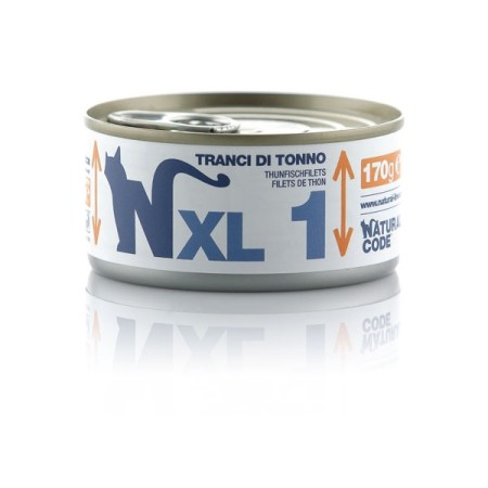 Natural Code XL1 Tranci di Tonno• 170g