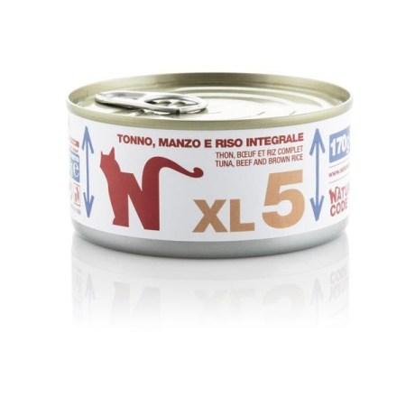 Natural Code XL5 Tonno, Manzo e Riso Integrale• 170g