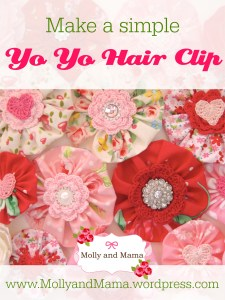 Make a Yo Yo Hair Clip