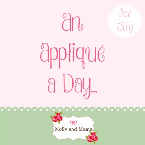 Week 2 of the 'Appliqué A Day' Challenge