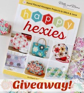 Happy Hexies – a Beautiful New Book from Zakka Workshop (plus a Giveaway)