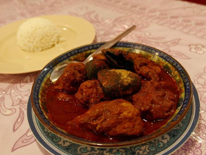 Ayam Buah Keluak, Aunty Lee's Peranakan Restaurant, Melaka, Malaysia