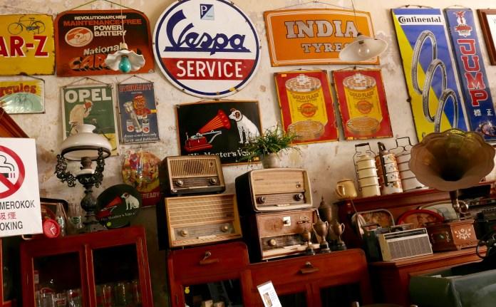 Sayyid Antique & Cafe, Melaka, Malaysia, antiques