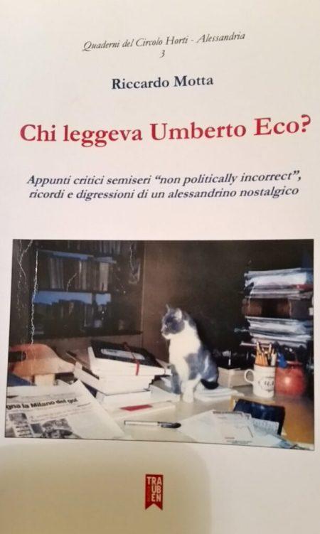 Riccardo Motta, Chi leggeva Umberto Eco