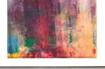 """Rose Rising,"" 1968, Sam Gilliam, acrylic on canvas, 97″ x 132″ x 37⁄8″ Photo: courtesy David Kordansky Gallery"