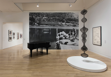 "Installation view: ""Leap Before You Look: Black Mountain College, 1933-1957""  at the Hammer Museum, Los Angeles, Feb 21 – May 15, 2016. Photo: Brian Forrest, courtesy of the Hammer Museum"