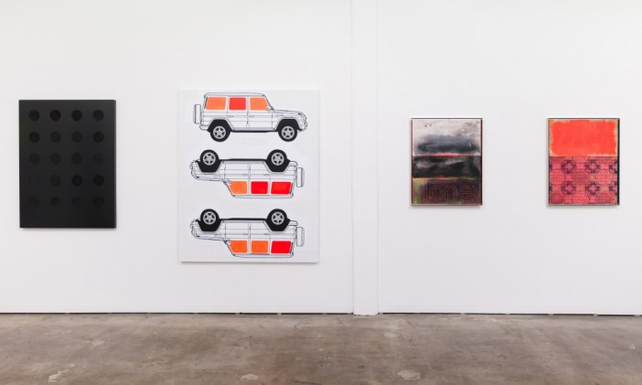 """Installation view, """"Class & Class Conflict"""" at Meliksetian