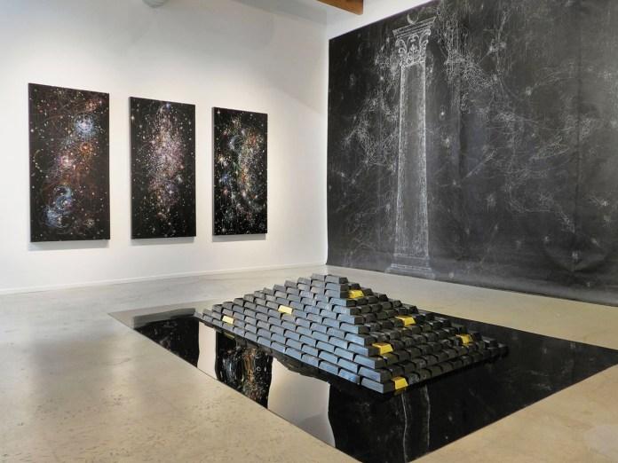 Installation view at Von Lintel Gallery