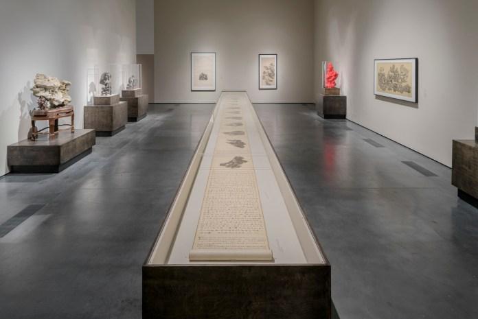 """Wu Bin """"Ten Views of a Lingbi Stone"""""""