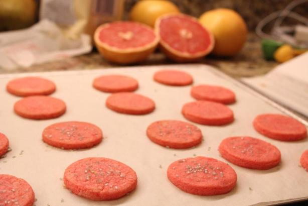 Grapefruit Sandwich Cookies