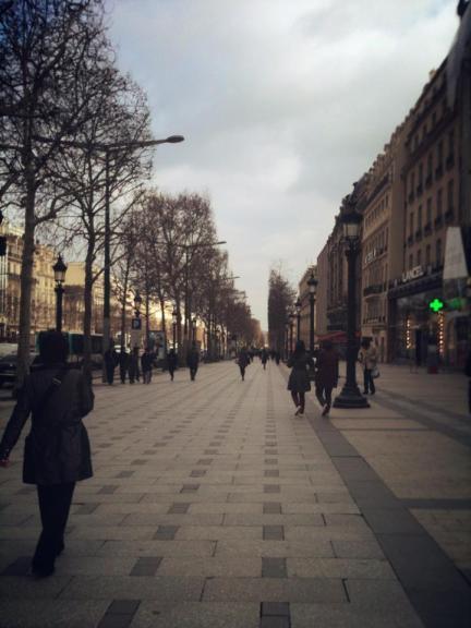 Champs Elysse 3-20-13
