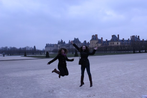 Fontainebleau Jumping Pic