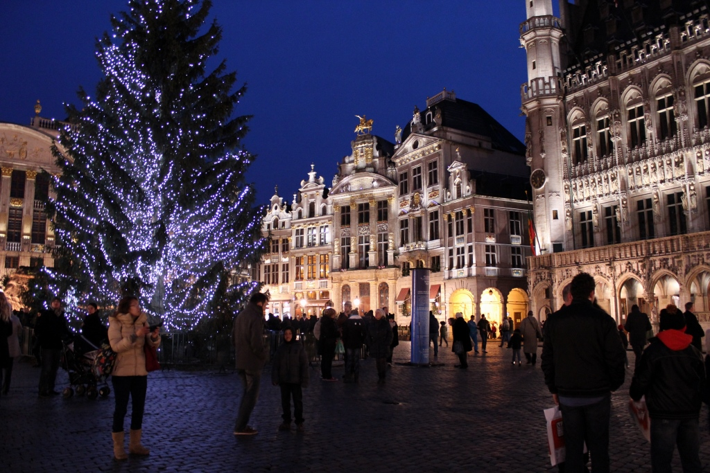 Grand Place Light Show