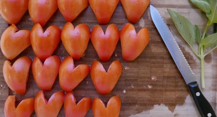 Tomato Tart Tatin for Two!