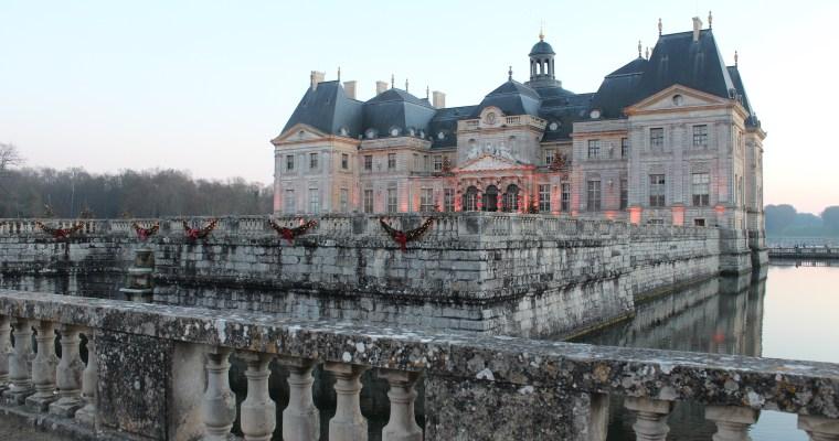 Christmas Chateau Visiting: Vaux le Vicomte