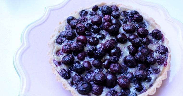 Blueberry Alsatian Tart