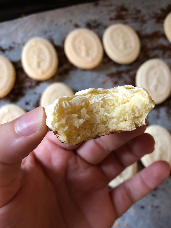 Springerle Cookies a traditional Alsace Lorraine Cookie with an intricate design on top