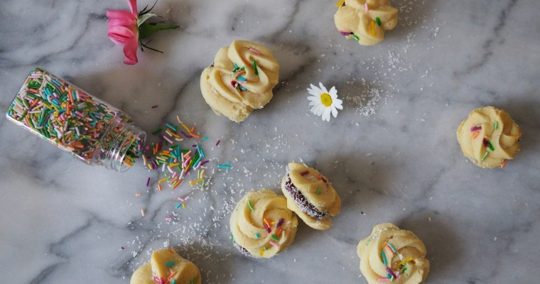 2nd Surprise Bake Along: Sable Cookies + Ganache