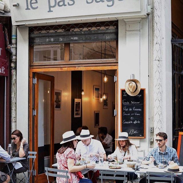 Le Pas Sage a fantastic restaurant in the 2nd arrondissement Paris