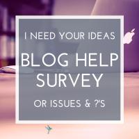Give Me Your Ideas, Questions, & Problems! (A Survey)
