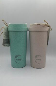 Rice husk mugs