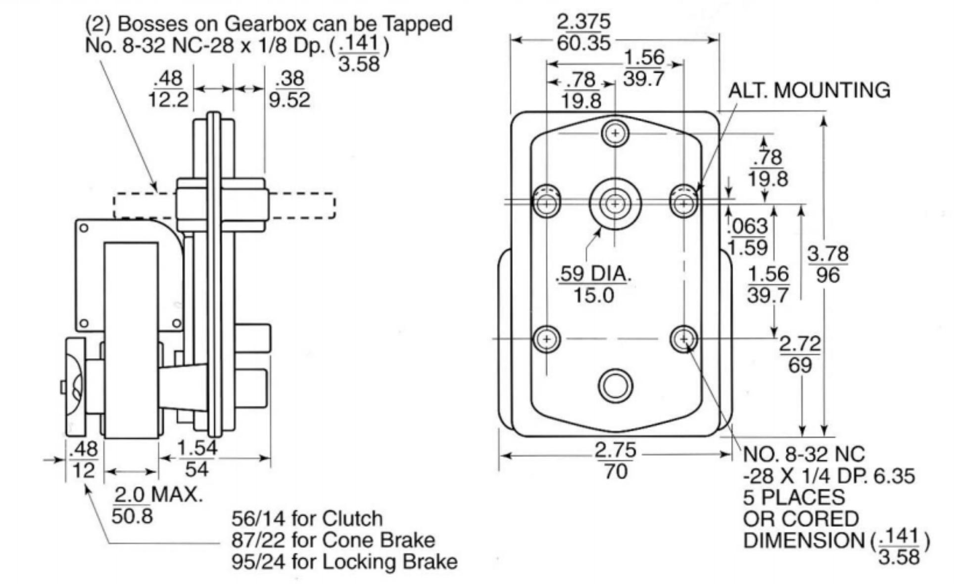 Ac Shaded Pole Motors Gearmotors Zgm