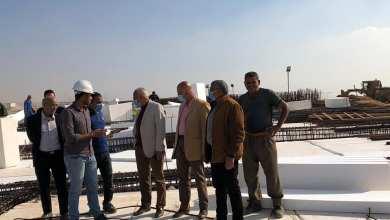 """صورة مساعد نائب رئيس""""هيئة المجتمعات العمرانية"""" يتفقد مشروعات مدينة العبور"""