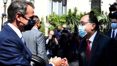 صورة «مدبولي»:الربط الكهربائي بين مصر واليونان عبر جزيرة كريت