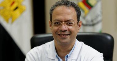 صورة الدكتور عمرو الحديدى : تراجع إصابات كورونا ونسبة التعافى 95%