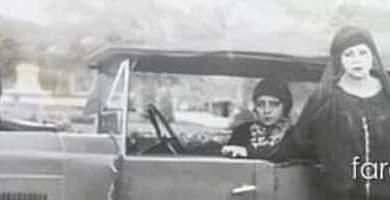 """صورة """"عباسية فرغلي"""".. المرأة الصعيدية التي حصلت علي أول رخصة قيادة سنة ١٩٢٠م"""